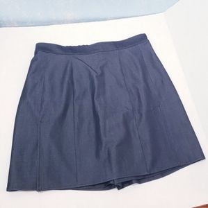 Simontonsays by George S Blue A-line Skirt Size 10